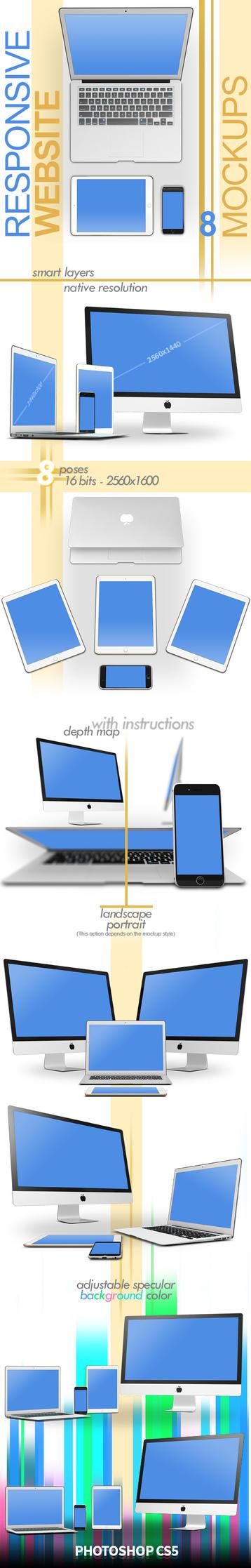 Multi Device PSD Mockups by abdelrahman