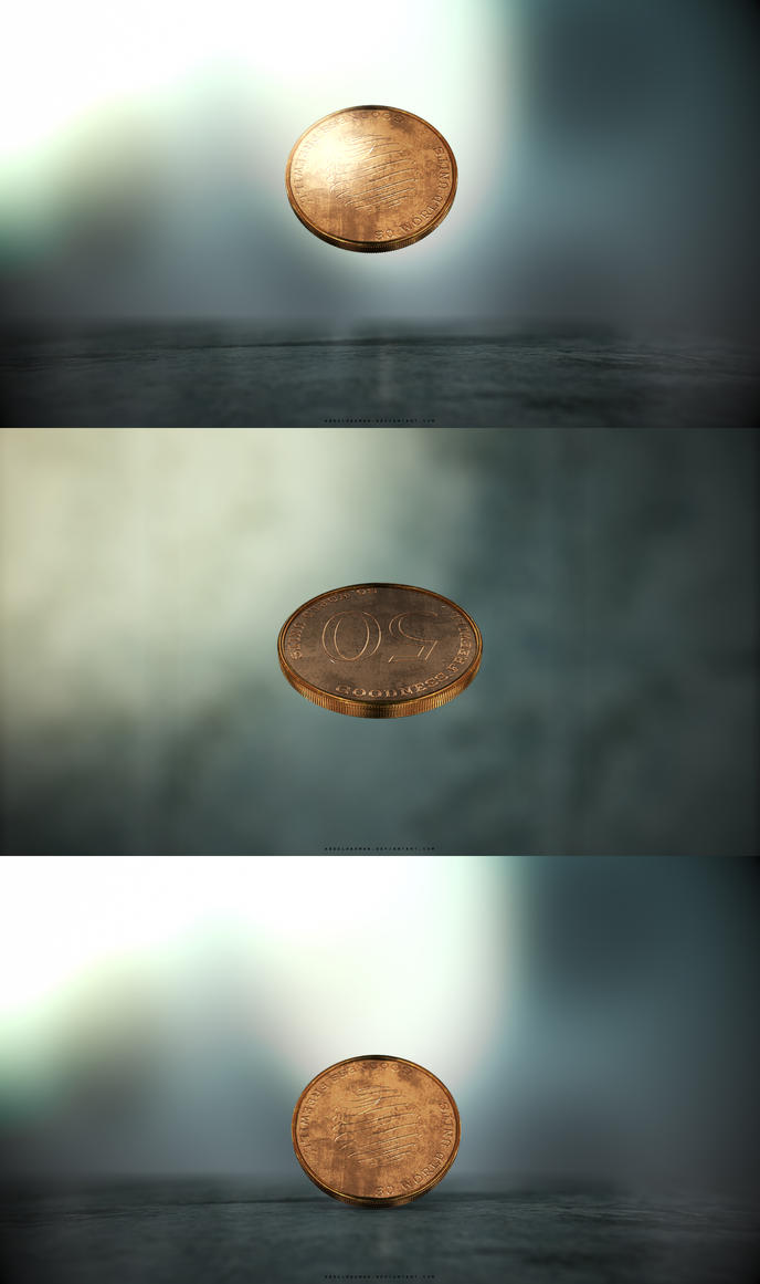 Coin Toss and Fall | Wallpaper Pack by abdelrahman