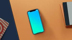 IphoneX Desk Mockup | Free PSD