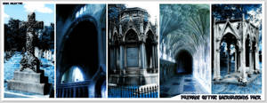 Premade Gothic Backgrounds Pack