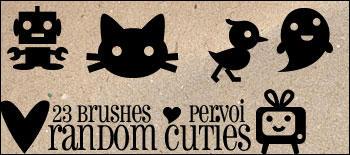 Random Cuties by daintyish