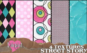 Street Story Texture Pack by daintyish