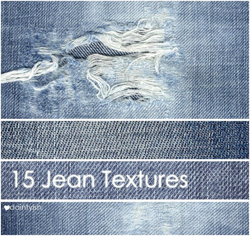 Jean Textures by daintyish