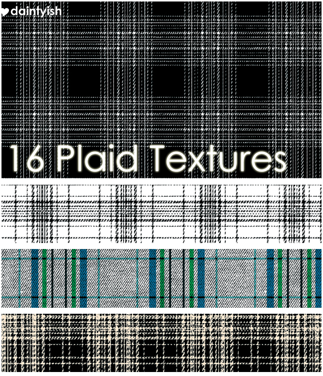 Plaid Texture set 1
