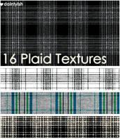 Plaid Texture set 1 by daintyish