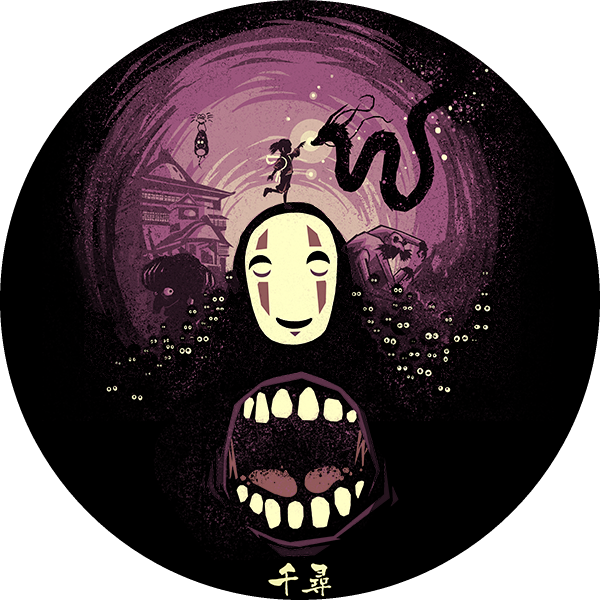 Kaonashi No Face Icon Spirited Away By Rdiggy On Deviantart