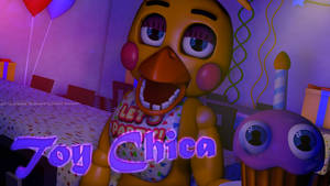 (FNAF) Toy Chica Poster