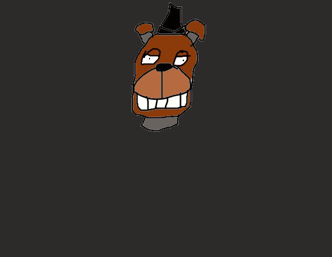 crappy freddy head by YpodkaaaY