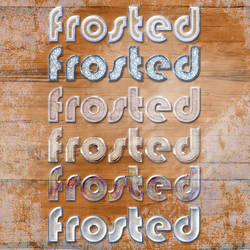 6 Frosted Styles by MrsLavender