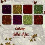 Autumn Glitter Styles