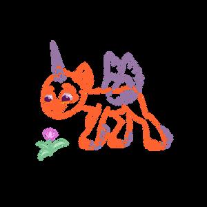 G5 Flower Pony Lines F2U