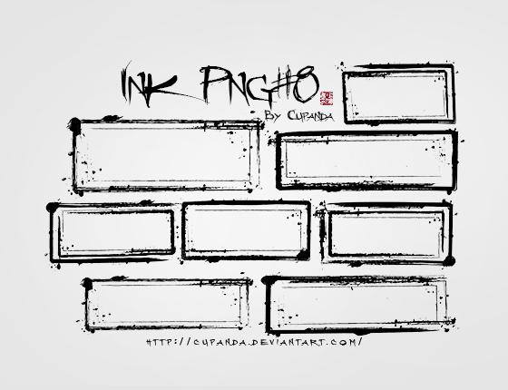 Ink png#8 by CuPanda