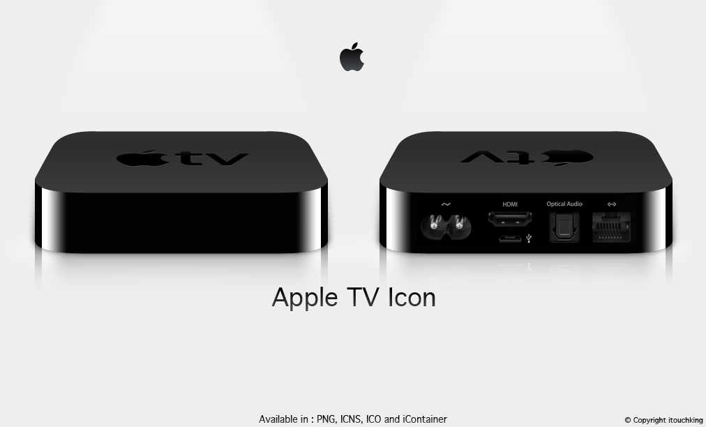 Apple TV 2010 Icon by itouchking