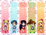 Inner Senshi wallpaper