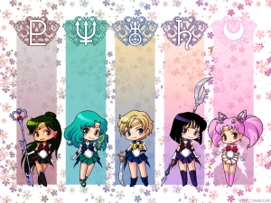 Outer Senshi Wallpaper by Marc-G