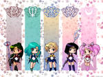 Outer Senshi Wallpaper