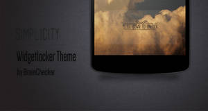 Simplicity Widgetlocker Theme