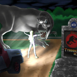 Jurassic Park - Disney Princess Edition PT1 Litnin by Shen-fn-Woo