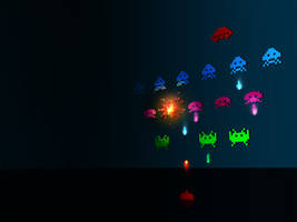 Space Invaders by st3to