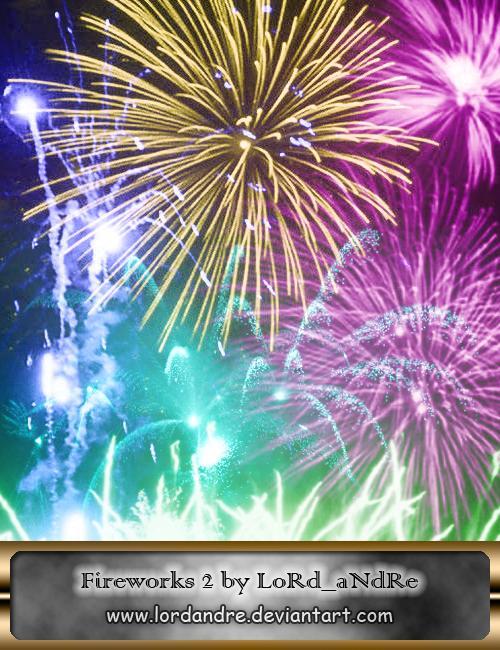 Fireworks high resolution 2