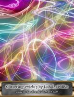 Glittering swirls 3 by LoRdaNdRe