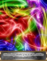 Glittering swirls 4 by LoRdaNdRe
