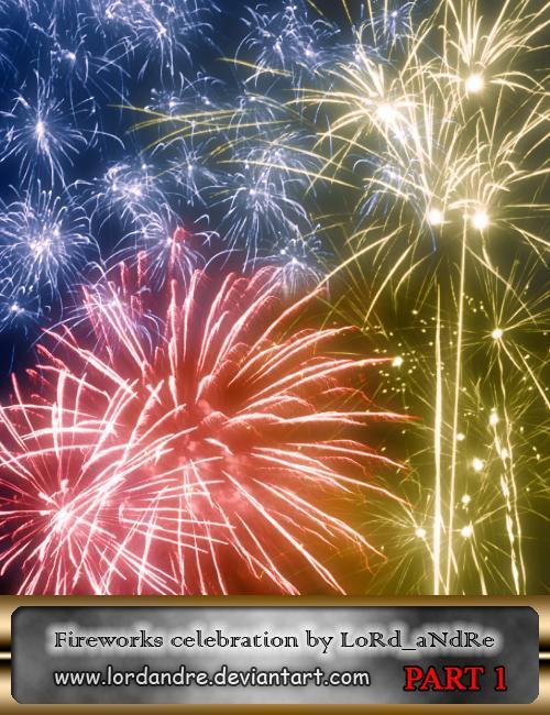 Fireworks celebration part1 by LoRdaNdRe