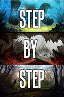 Step by Step- Environments by Ultragriffy