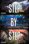 Step by Step- AlienScape Concept by Ultragriffy