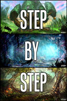 Step by Step- Adventure Time Fan Art by Ultragriffy