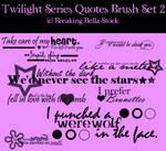 Twilight Quote Brushes