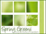 Icon Textures - Spring Greens