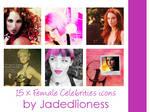 Female Celebrities #2 Icons