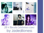 Female Celebrities #3 Icons
