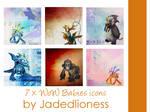World of Warcraft Babies Icons