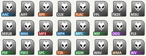 Foobar File Icons