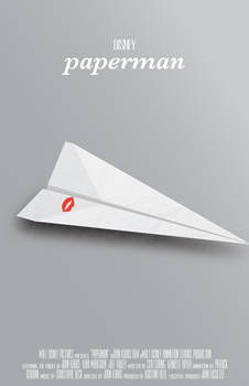 Paperman Poster