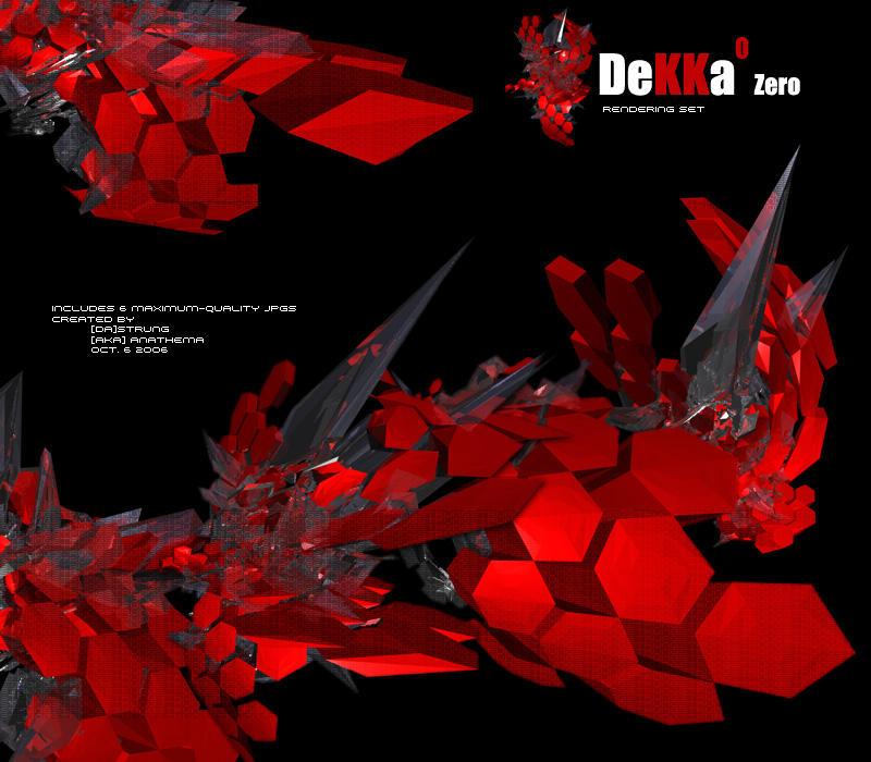 Dekka-zero - Rendering Set by Strung