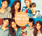 Started - PSD #25