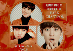 Chanyeol EXO #28 - PNGS by fairyixing