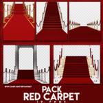 PACK PNGS: Red Carpet | ByunCamis
