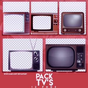 PACK PNGS: TV'S  ByunCamis