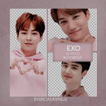 [PNG PACK] EXO - (POWER UP STORE PHOTOCARDS)