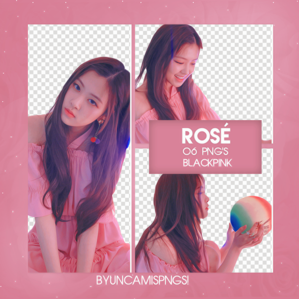 PNG PACK #67] ROSE (BLACKPINK) by fairyixing on DeviantArt