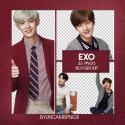 [PNG PACK #77] EXO