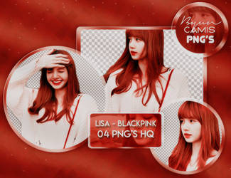 [PNG PACK #117] LISA (BLACKPINK) by fairyixing