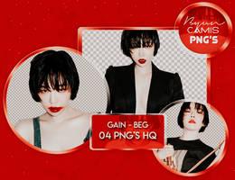 [PNG PACK #126] GAIN (BROWN EYED GIRLS)