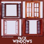 PACK PNGS: Windows | ByunCamis