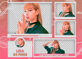[PNG PACK #591] Lisa - BLACKPINK by fairyixing