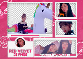 [PNG PACK #619] Red Velvet - Bad Boy (MV) by fairyixing